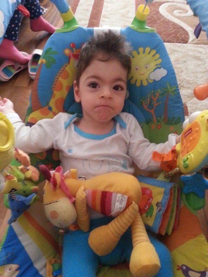 Mihaita, micul nostru luptator